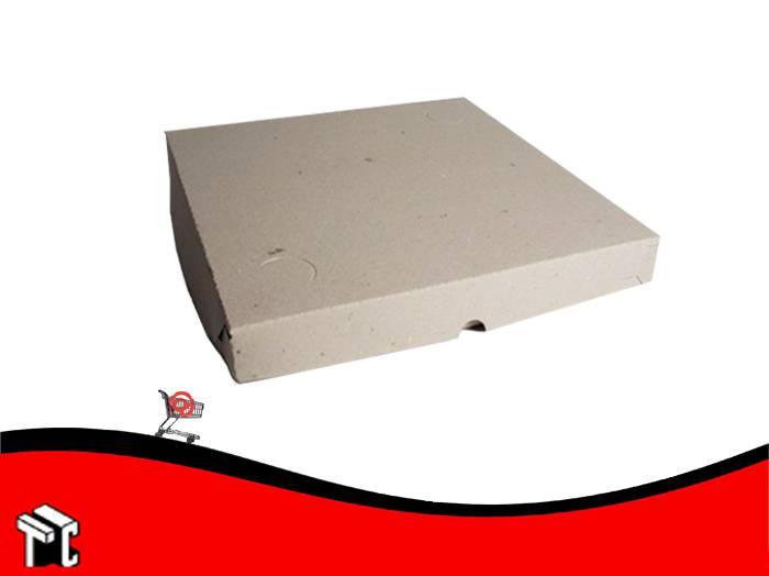 Caja Para Pizza Gris Grande X  100 Ud.