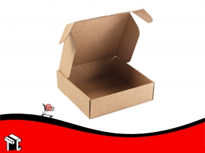 Caja Microcorrugado Marron Para 6 Empadanas S/imp. X100
