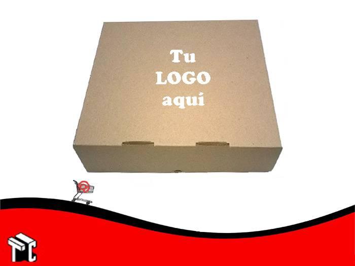 Caja Microcorrugada Marron Para 6 Empanadas X Unidad Personalizada