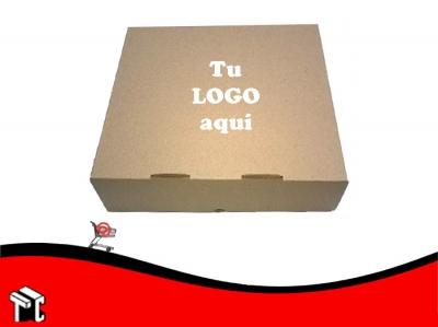 Caja Microcorrugada Marron Para 12 Empanadas X Ud Person.