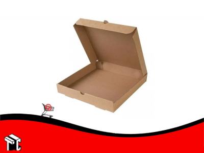 Caja Microcorrugado Marrón Para Pizza Grande X 50 Ud