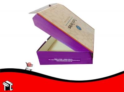 Caja Microcorrugada Offset Para Torta Personalizada