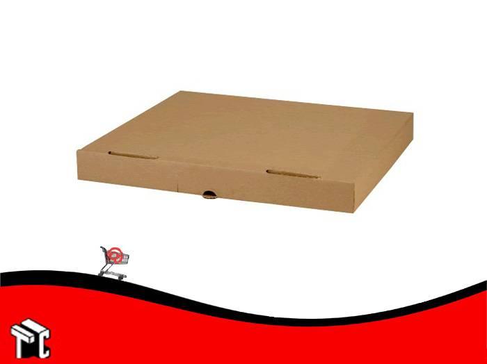 Caja Microcorrugada Marron Para Media Pizza X 50 Ud. M/m