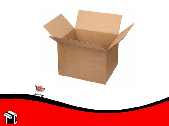 Caja De Carton Corrugado 20 X 20 X 10 Cm