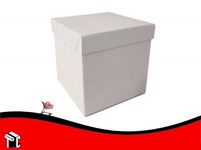 Caja Cuadrada Para Torta 25x25x27 X Unidad