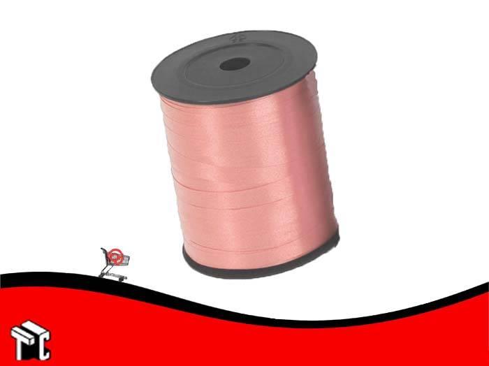 Cinta De Regalo Lisa 0.5 Cm X 1.000 M Color Salmon