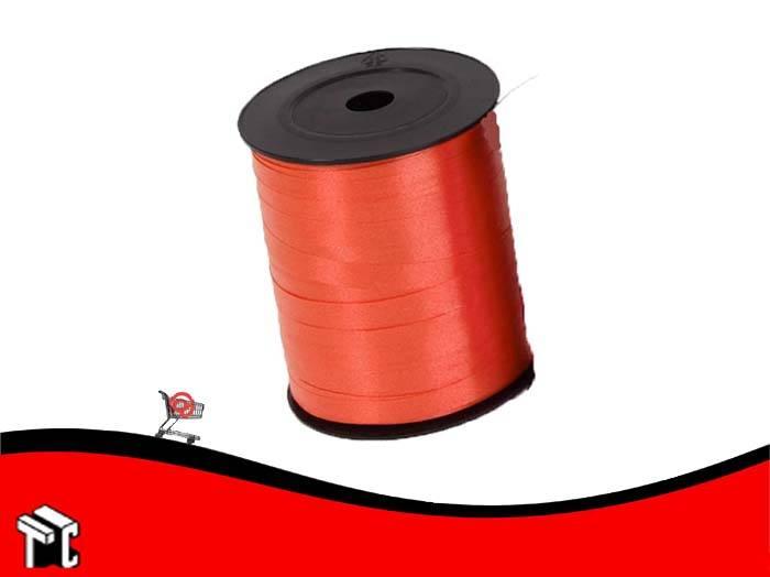Cinta De Regalo Lisa 0.5 Cm X 1.000 M Color Rojo