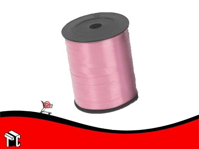 Cinta De Regalo Lisa 0.5 Cm X 1.000 M Color Rosa