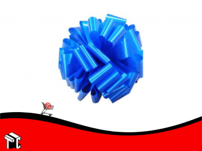 Moño Para Auto Color Azul