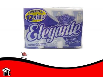 Pañuelos Pocket Elegante 6 X12 Ud