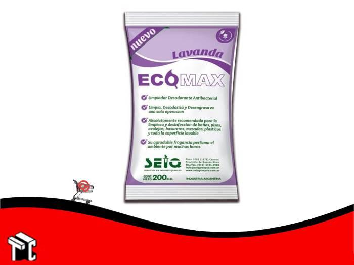 Desodorante De Piso Ecomax Fragancia Lavanda