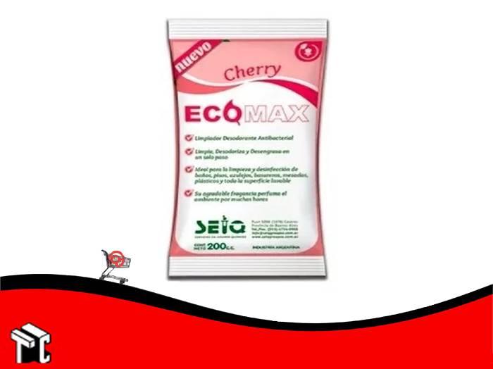 Desodorante De Piso Ecomax Fragancia Cherry
