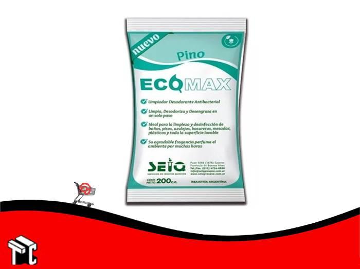 Desodorante De Piso Ecomax Fragancia Pino