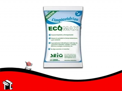 Limpiavidrios Ecomax