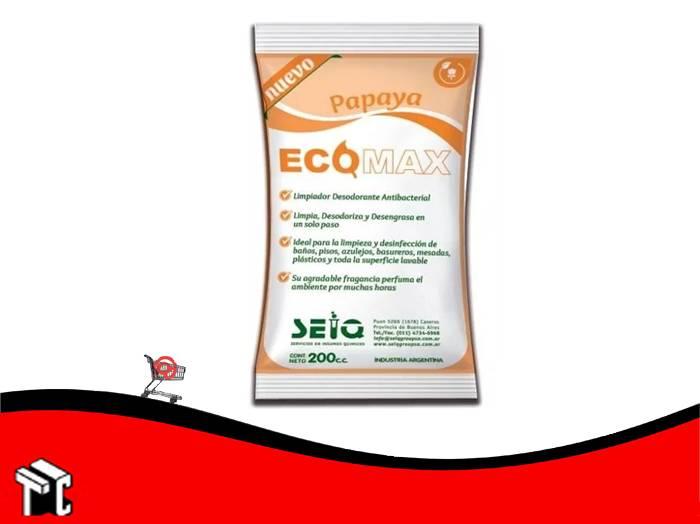 Desodorante De Piso Ecomax Fragancia Papaya