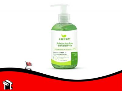 Jabon Liquido Para Manos Sanitizante X 250 Ml