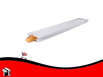 Sobre Bolsa De Papel Sulfito Para 1 Baguette X 100 Ud.
