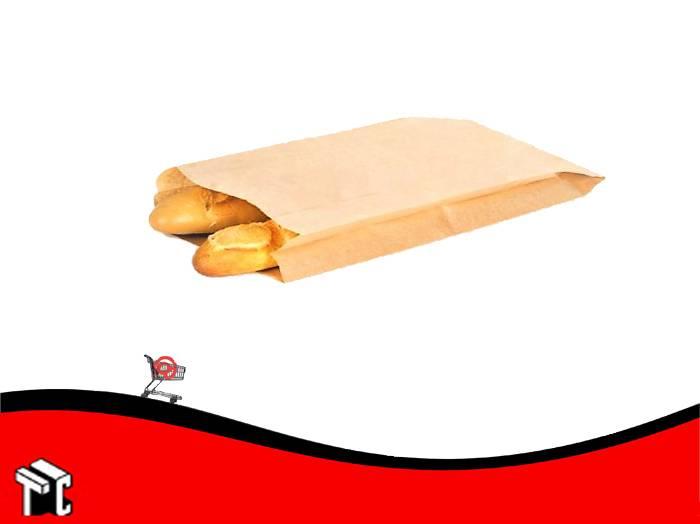 Sobre Bolsa De Papel Kraft Para 2 Baguettes  X 100 Ud.