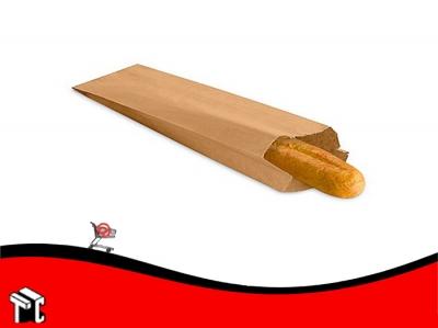 Sobre Bolsa De Papel Kraft Para 1 Baguette X 100 Ud.