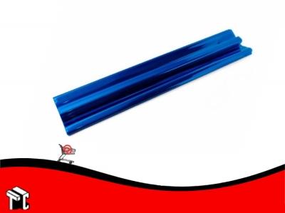 Papel De Regalo Metalizado Azul 70x50cm
