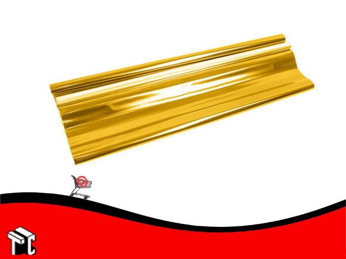 Papel De Regalo Metalizado Oro 70x50cm