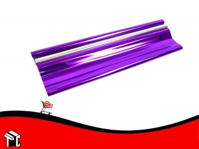 Papel De Regalo Metalizado Violeta 70x50cm