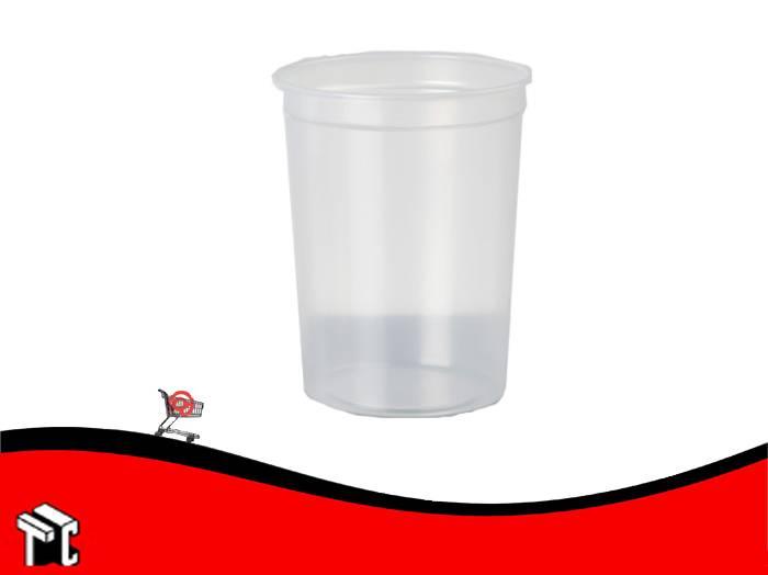 Pote Plastico Dixie 1/2 X 50 Unidades