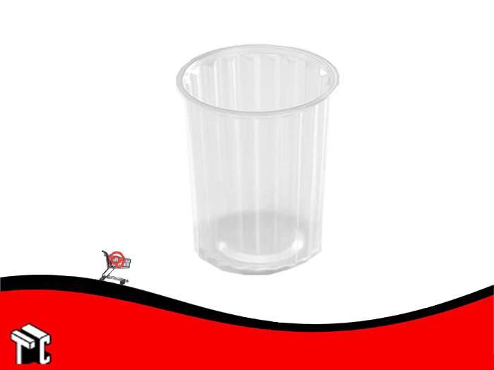 Pote Plastico Facetado Cotnyl 500 X 50 Unidades