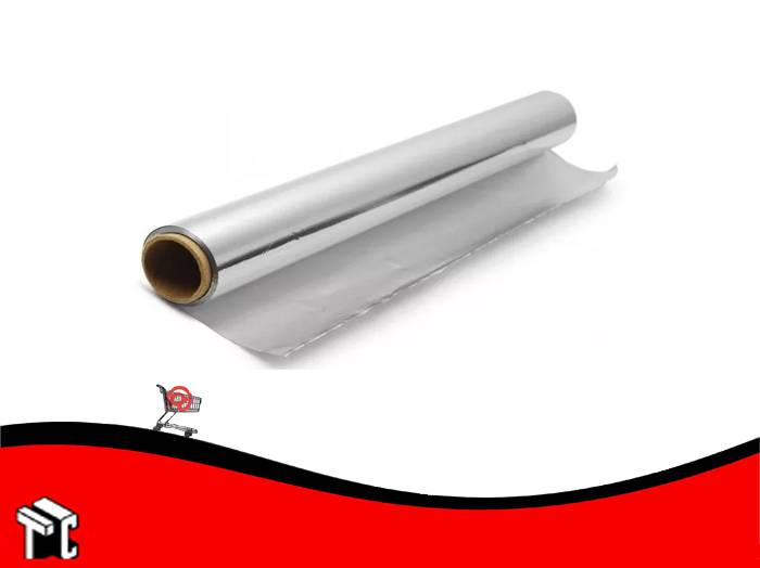 Rollo De Aluminio Familiar 30cm X 4mts