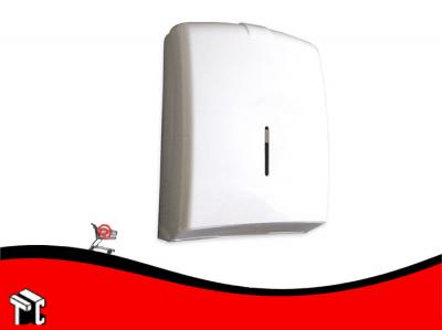Dispenser Para Toallas Tapa Blanca P/4 Paneles
