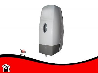 Dispenser De Jabón Líquido Blanco Tecla Gris