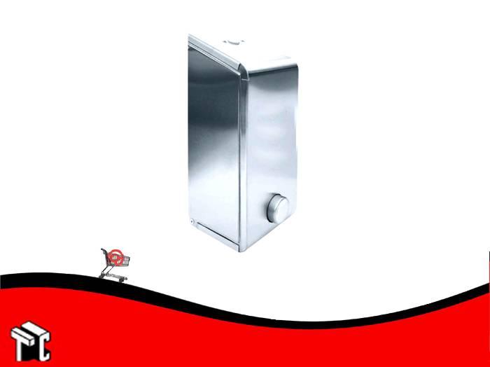 Dispenser De Jabon Líquido Acero Inoxidable Esmerilado