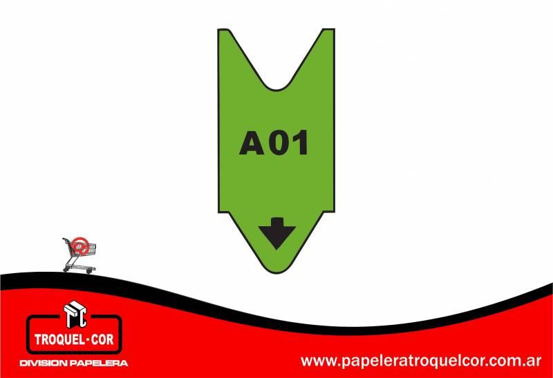 Rollo Alfanumerico A00 Al A99 X 2.000 Numeros Color Verde