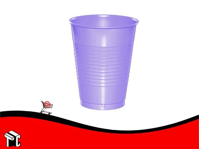 Vaso Plástico 180 Cm3 Violeta × 100 Unidades