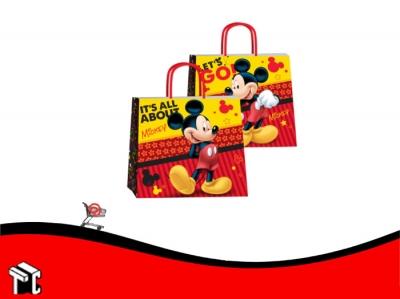 Bolsa De Papel Mickey 32 X 10 X 30