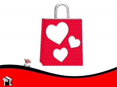 Bolsa De Papel Amore Mio 22 X 10 X 24