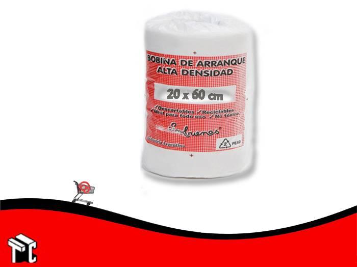 Bolsa De Arranque Alta Densidad 20x60 (1500g) X Ud.