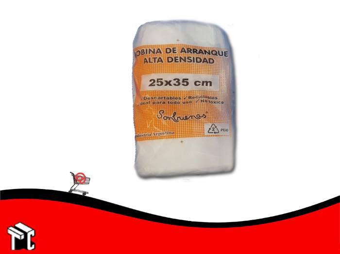 Bolsa De Arranque Alta Densidad 25x35 (1500g) X Ud.