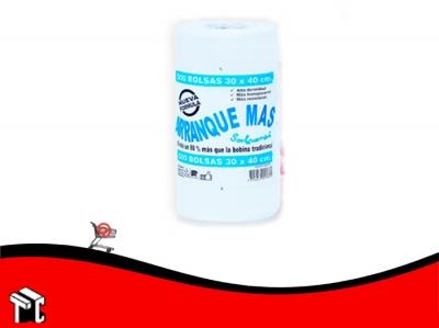 Arranque Mas 30 X 40 X500 Bolsas De Polietileno Trans.
