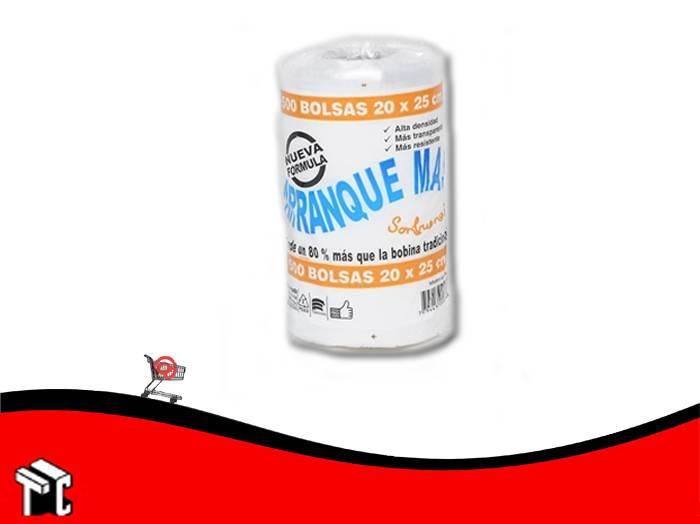Arranque Mas 20 X 25 X500 Bolsas De Polietileno Trans.