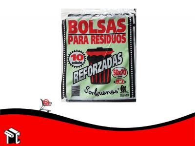 Bolsa De Residuo 50x70 Sonbuenas X 10 Ud