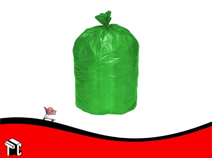 Bolsa De Consorcio 80x110 Verde X 10 Unidades