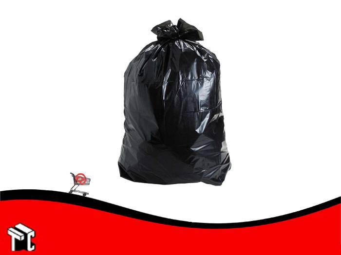 Bolsa De Consorcio 80x110 Negro Reforzada X 10