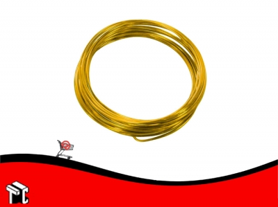 Alambre Aluminio X Unidad Amarillo