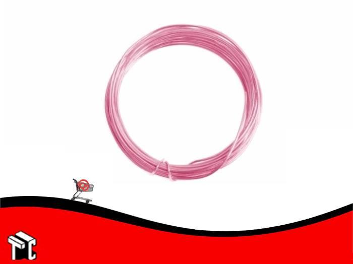 Alambre Aluminio X 6 Unidades Rosa