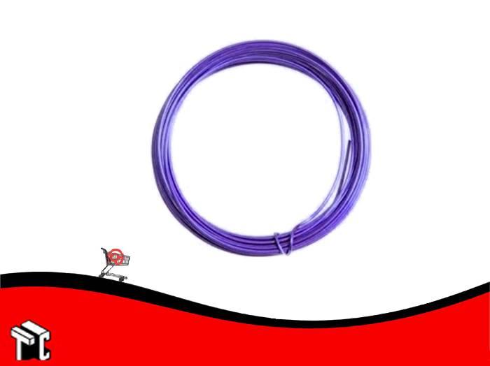 Alambre Aluminio X 6 Unidades Violeta