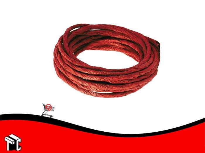 Cinta Papel Retorcida 7cm X 10 M Rojo
