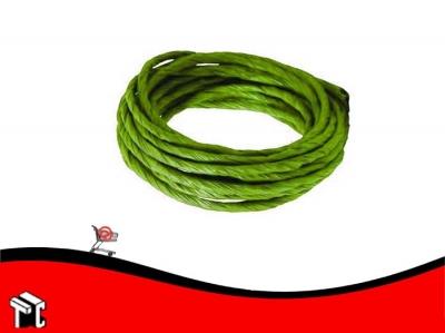 Cinta Papel Retorcida 7cm X 10 M Verde Claro