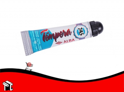 Tempera Profesional Alba 745 Azul Ultra Mar X 18 Ml