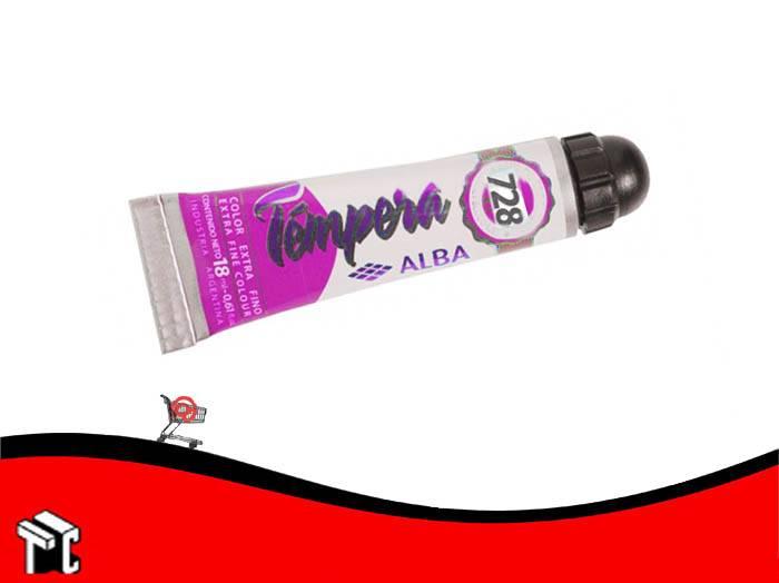 Tempera Profesional Alba 728 Magenta Cromatico X 18 Ml